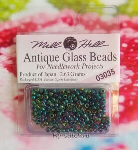 03035 Бисер 11 Mill Hill Antique Glass Beads
