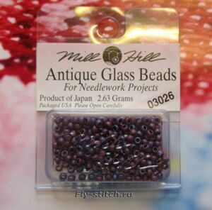 03026 Бисер 11 Mill Hill Antique Glass Beads
