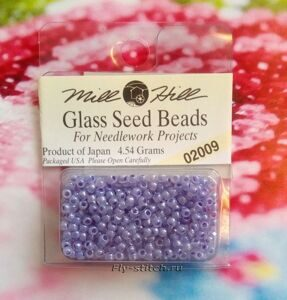 02009 Бисер 11 Mill Hill Glass Seed Beads